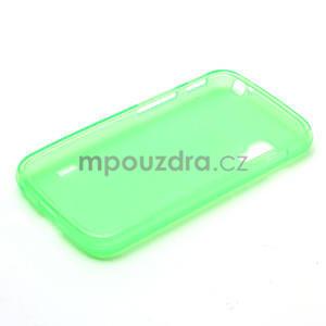Matné gélové puzdro pre LG Optimus L5 Dual E455- zelené - 6