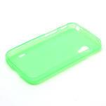 Matné gélové puzdro pre LG Optimus L5 Dual E455- zelené - 6/6