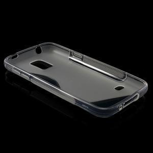Gélové S-line puzdro pre Samsung Galaxy S5 mini G-800- transparentný - 6