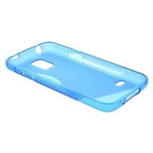 Gélové S-line puzdro pre Samsung Galaxy S5 mini G-800- modré - 6