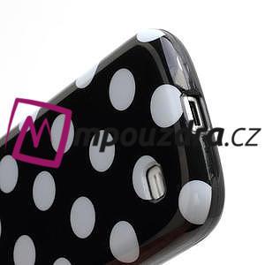 Gélový Puntík pro Samsung Galaxy S4 mini i9190- čierne - 6