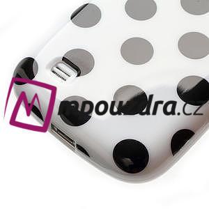 Gélový Puntík pro Samsung Galaxy S4 mini i9190- biele - 6