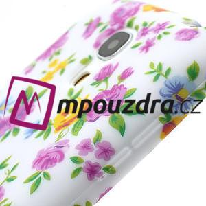 Gélové puzdro pro Samsung Galaxy S4 mini i9190- elegantní kvetina - 6