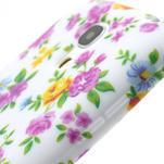 Gelové pouzdro pro Samsung Galaxy S4 mini i9190- elegantní květina - 6/7