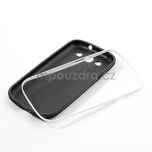 Gelové rámované pouzdro na Samsung Galaxy S3 i9300- černé - 6