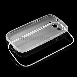 Gelové rámované pouzdro na Samsung Galaxy S3 i9300- transparentní - 6