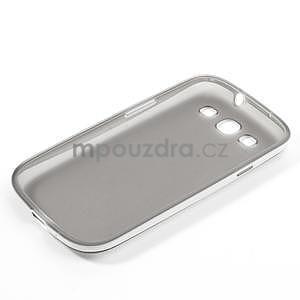 Gélové rámované puzdro pre Samsung Galaxy S3 i9300- šedé - 6