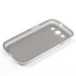 Gélové rámované puzdro pre Samsung Galaxy S3 i9300- šedé - 6/7