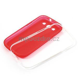 Gelové rámované pouzdro na Samsung Galaxy S3 i9300- červené - 6