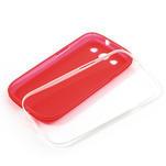 Gelové rámované pouzdro na Samsung Galaxy S3 i9300- červené - 6/6