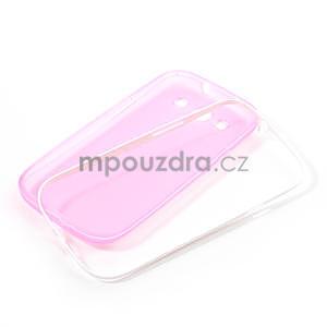 Gélové rámované puzdro pre Samsung Galaxy S3 i9300- ružové - 6