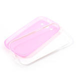 Gélové rámované puzdro pre Samsung Galaxy S3 i9300- ružové - 6/6