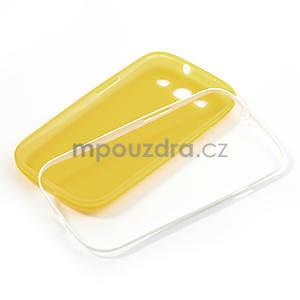 Gélové rámované puzdro pre Samsung Galaxy S3 i9300- žlté - 6