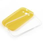 Gélové rámované puzdro pre Samsung Galaxy S3 i9300- žlté - 6/6