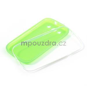 Gelové rámované pouzdro na Samsung Galaxy S3 i9300- zelené - 6