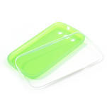 Gelové rámované pouzdro na Samsung Galaxy S3 i9300- zelené - 6/6