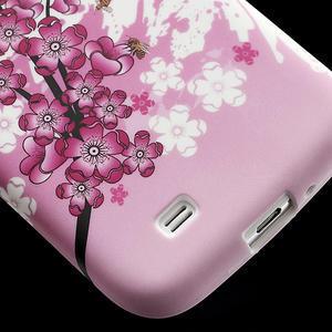 Gélové puzdro pro Samsung Galaxy S4 i9500- kvitnúca slivka - 6