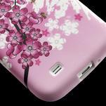 Gelové pouzdro pro Samsung Galaxy S4 i9500- kvetoucí švestka - 6/7