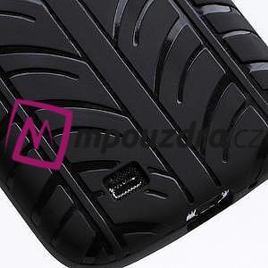 Gelové PNEU pouzdro pro Samsung Galaxy S4 i9500- černé - 6