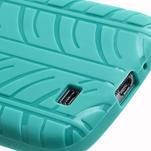 Gélové PNEU puzdro pro Samsung Galaxy S4 i9500- zelené - 6/7