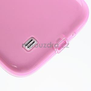 Gélové slim puzdro na Samsung Galaxy S4 i9500- růžové - 6