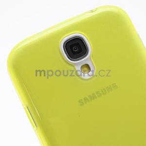 Gélové slim puzdro na Samsung Galaxy S4 i9500- žlté - 6