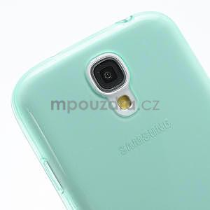 Gélové slim puzdro na Samsung Galaxy S4 i9500- zelené - 6