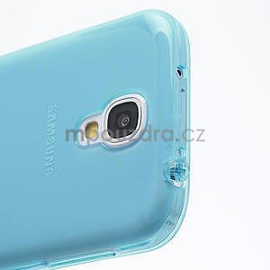 Gélové slim puzdro na Samsung Galaxy S4 i9500- modré - 6