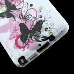 Gélové puzdro na Samsung Galaxy Note 3- květinka motýl - 6/6