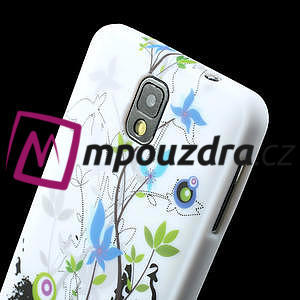 Gélové puzdro na Samsung Galaxy Note 3- květiny - 6
