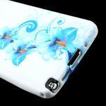 Gélové puzdro na Samsung Galaxy Note 3- modrá lilie - 6/6