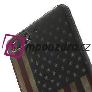 Gélové puzdro na Huawei Ascend G6 - USA vlajka - 6