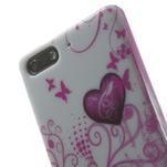 Gélové puzdro na Huawei Ascend G6 - dvě srdce - 6/7
