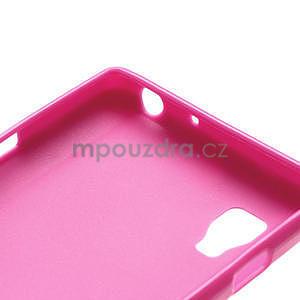 Gélové PUNTÍK puzdro pre LG Optimus L9 P760- růžové - 6