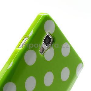Gélové PUNTÍK puzdro pre LG Optimus L9 P760- zelené - 6