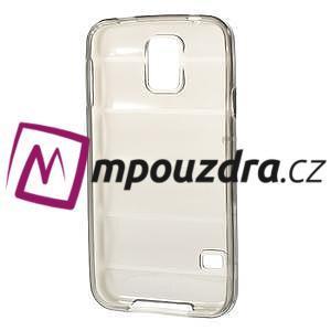 Gélové vesta puzdro pre Samsung Galaxy S5- šedé - 6