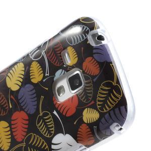 Gélové puzdro na Samsung Galaxy Trend, Duos- lístky - 6