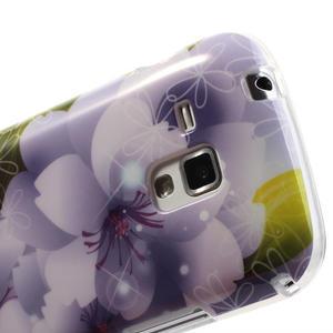 Gélové puzdro na Samsung Galaxy Trend, Duos- elegantný květ - 6