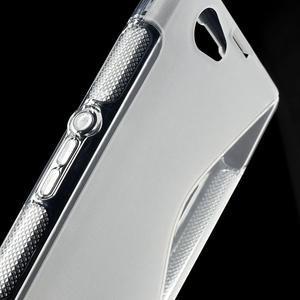 Gélové S-line puzdro na Sony Xperia Z1 Compact D5503- transparentný - 6