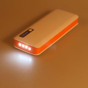 Vysokokapacitní externí nabíjačka PowerBank GT 11 800 mAh - oranžová - 6