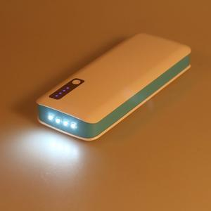 Vysokokapacitní externí nabíjačka PowerBank GT 11 800 mAh - modrá - 6