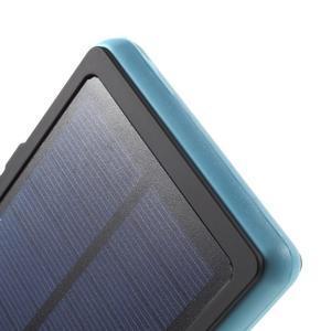 Outdoor GX vysokokapacitní externí solární nabíjačka 12 000 mAh - modrá - 6