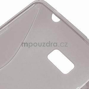 Gélové S-line puzdro pre HTC Desire 600- šedé - 6