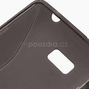 Gélové S-line puzdro pre HTC Desire 600- čierné - 6
