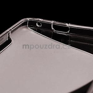 Gélové S-line puzdro pre HTC one M7- šedé - 6