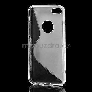 Gélové S-line puzdro pre iPhone 5C- transparentný - 6