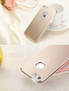 Hliníkové puzdro na iPhone 5, 5s- zlaté - 6