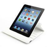 Krystalové 360° puzdro pre iPad 2, 3, 4- biele - 6/7