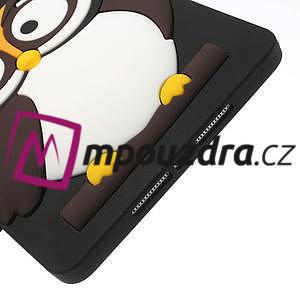 Silikonové puzdro na iPad mini 2 - hnědá sova - 6