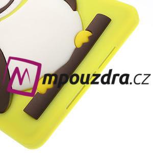 Silikonové puzdro na iPad mini 2 - žltá sova - 6